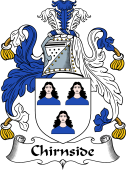 Scottish Coat of Arms for Chirnside