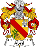 Spanish Coat of Arms for Abril