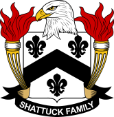 American Coat of Arms for Shattuck