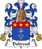 Coat of Arms from France for Breuil (du)