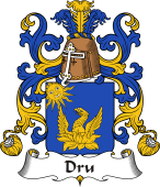 Coat of Arms from France for Dru