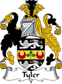 Irish Coat of Arms for Tyler