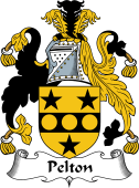 English Coat of Arms for Pelton