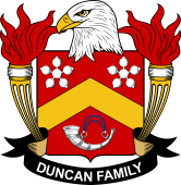 American Coat of Arms for Duncan