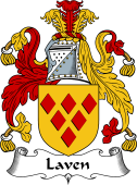 Scottish Coat of Arms for Laven