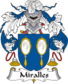 Spanish Coat of Arms for Miralles