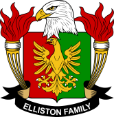 American Coat of Arms for Elliston