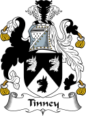 English Coat of Arms for Tinney