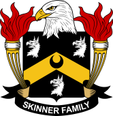 American Coat of Arms for Skinner