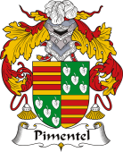 Spanish Coat of Arms for Pimentel