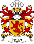 Welsh Coat of Arms for Ieuan (AP GRUFFUDD)
