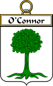 Irish Badge for Connor or O'Connor (Don)