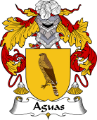 Spanish Coat of Arms for Aguas