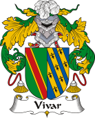 Spanish Coat of Arms for Vivar