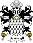 Welsh Coat of Arms for Benwyll (or Benweill)