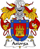 Spanish Coat of Arms for Astorga