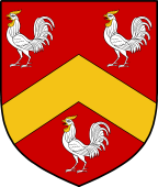Coat of Arms from France for Crow or Crowe