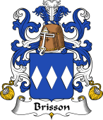 Coat of Arms from France for Brisson