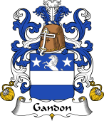 Coat of Arms from France for Gondon dit Gandon