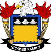 American Coat of Arms for Grymes