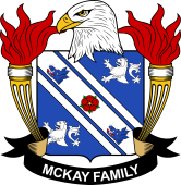 American Coat of Arms for McKay