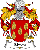 Spanish Coat of Arms for Abreu