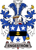 Swedish Coat of Arms for Engeström