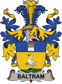 Swedish Coat of Arms for Baltram