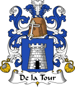 Coat of Arms from France for Tour ( de la)