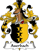 German Wappen Coat of Arms for Auerbach