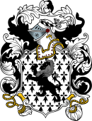English or Welsh Coat of Arms for Kendrick ( or Kenrick-Reading, Berkshire)