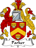 English Coat of Arms for Parker I