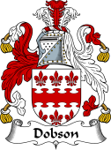 English Coat of Arms for Dobson