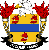 American Coat of Arms for Titcomb