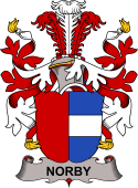 Danish Coat of Arms for Norby