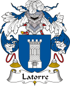 Spanish Coat of Arms for Latorre