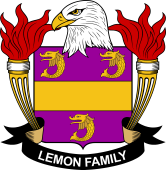 American Coat of Arms for Lemon