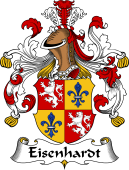German Wappen Coat of Arms for Eisenhardt