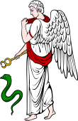 Gods and Goddesses Clipart image: Pax