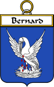 French Coat of Arms Badge for Bernard