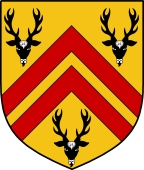 Coat of Arms from France for Bucknall or Bucknell