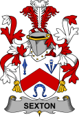 Irish Coat of Arms for Sexton