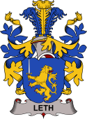 Danish Coat of Arms for Leth