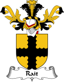 Coat of Arms from Scotland for Rait or Reath