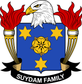 American Coat of Arms for Suydam