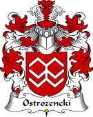 Polish Coat of Arms for Ostrozencki