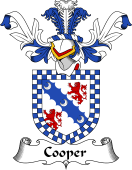 Coat of Arms from Scotland for Cooper