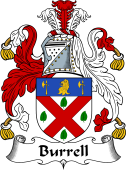 English Coat of Arms for Burrell