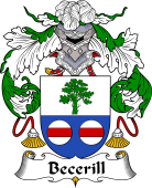 Spanish Coat of Arms for Becerill