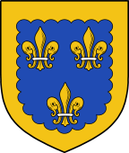 Coat of Arms from France for Unwin or Unwyn
